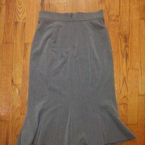 4P Sag Harbor - Dove Gray Flared Gore Skirt